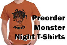 Preorder Monster Night T-Shirts