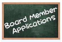Board Member Applicaitons