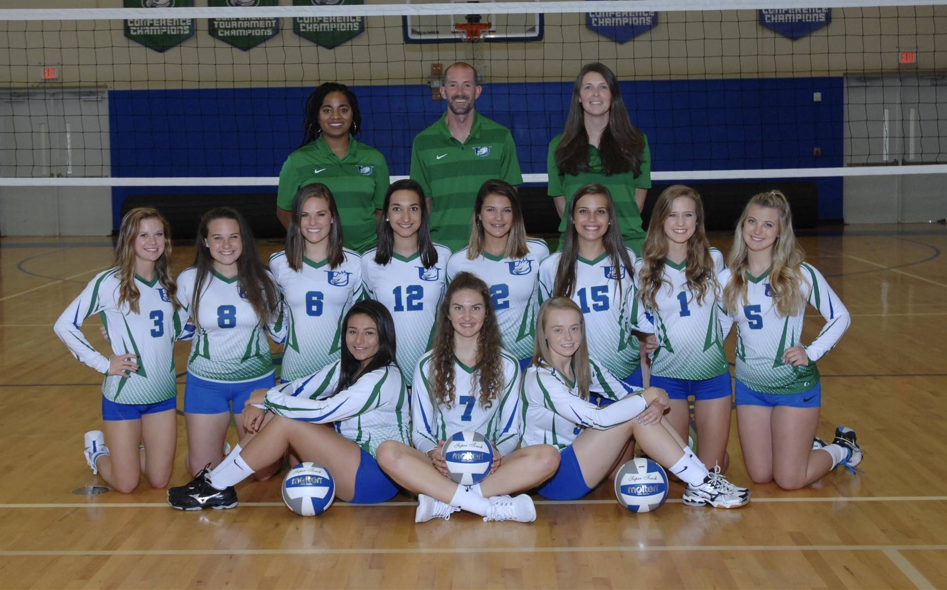 A picture of the UCA High School Volleyball team