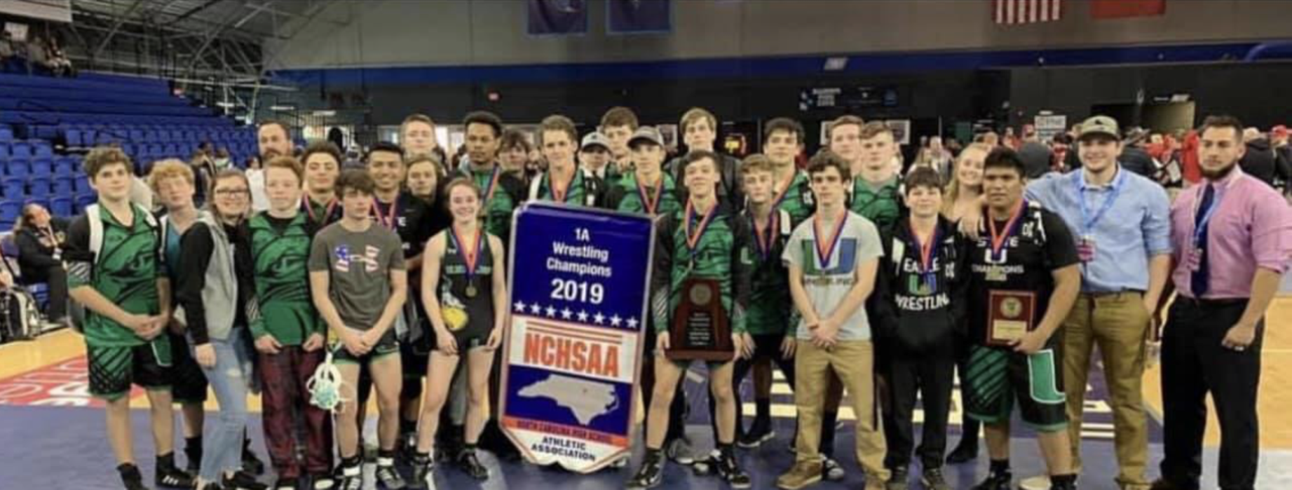 UCA Wrestling Dual State Champions and 1A East Regional Champions